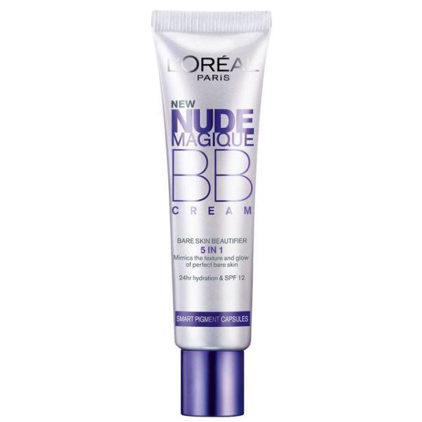 BB Cream L OREAL Nude Magique 5 in 1 Ten Mediu cu micro capsule cu pigmenti 30ml