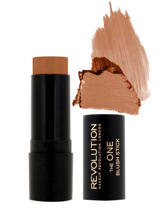 Blush Si Ruj Makeup Revolution The One Blush Stick Malibu