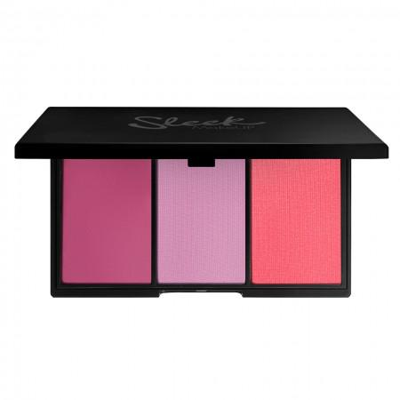 Paleta de Blush-uri cu 3 Nuante Sleek BY 3 - Sweet Cheeks-big