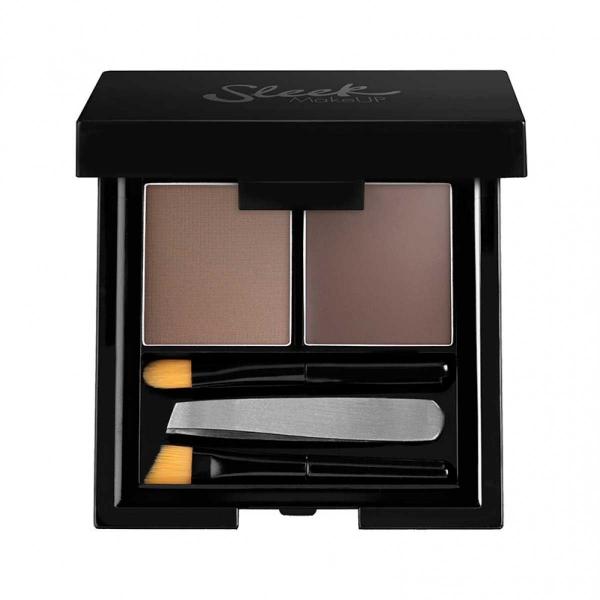Kit Pentru Sprancene Sleek Makeup Brow Kit Dark 3.8g
