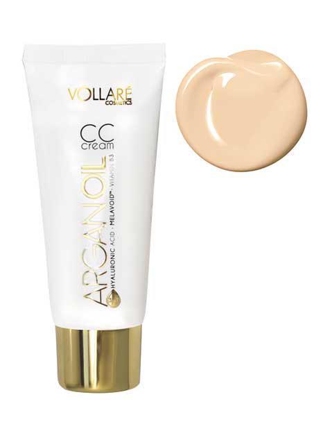 Baza Profesionala CC Cream Vollare Hyaluronic Acid 30ml 01 Porcelain