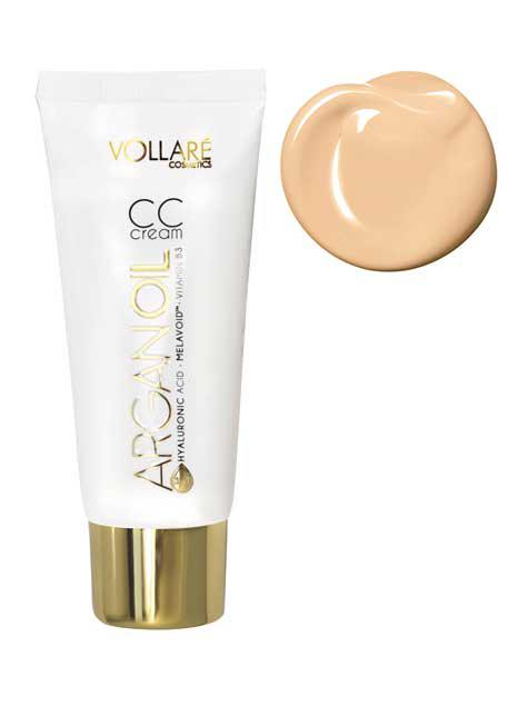 Baza Profesionala CC Cream Vollare Hyaluronic Acid 30ml 03 Warm Beige