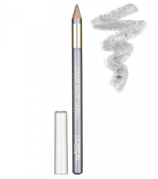 Creion De Ochi Iluminator L Oreal Color Riche Le Khol 112 Frosted Silver