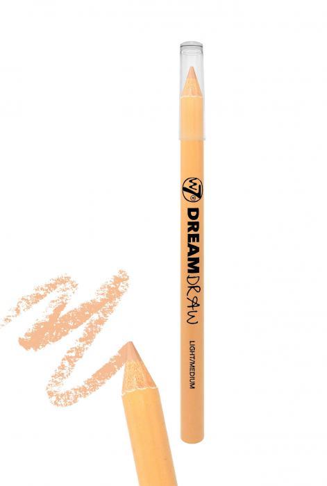 Creion Corector 3 in 1 W7 Dream Draw Light Medium