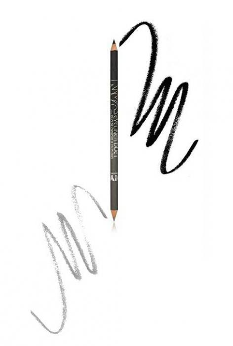 Creion De Ochi Dublu cu iluminator N.Y.C Eyeliner Duet - 882 Endless