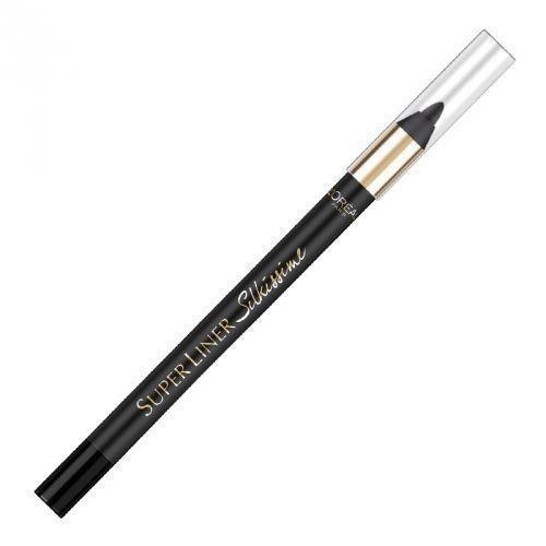 Creion de ochi L Oreal Superliner Silkissime 24h Waterproof 01 Black