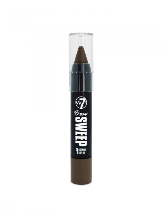 Creion Pentru Sprancene W7 Brow Sweep Grooming Dark Brown