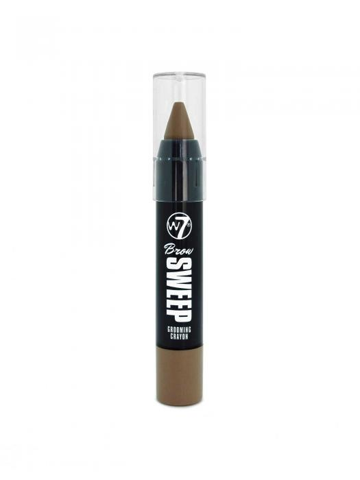 Creion Pentru Sprancene W7 Brow Sweep Grooming Light Brown