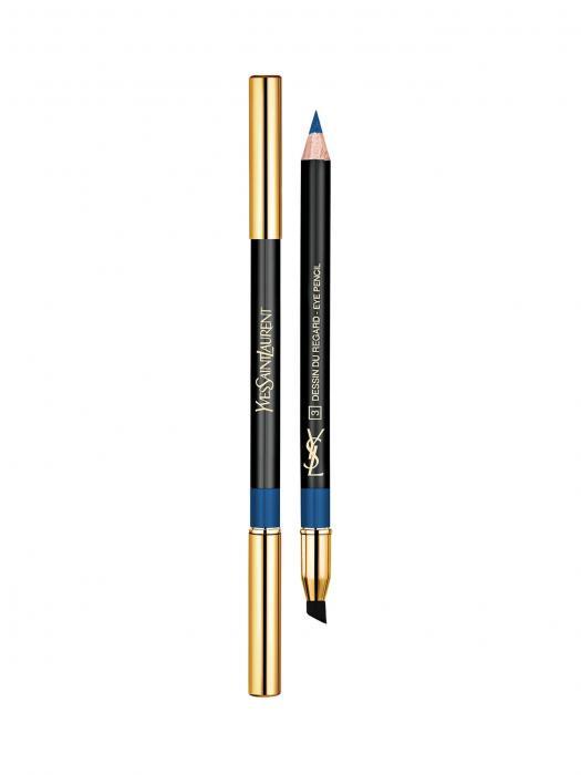 Creion De Ochi YvesSaintLaurent Dessin De Regard - 3 Special Blue
