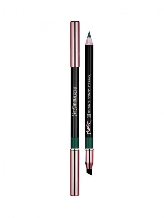 Creion De Ochi YvesSaintLaurent Dessin De Regard - 5 Green