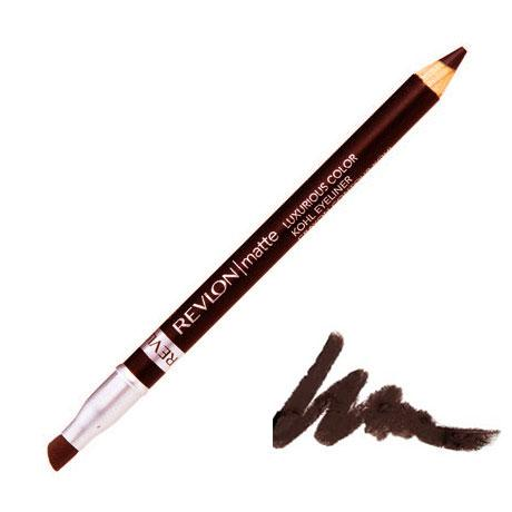 Creion de Ochi Revlon Matte Luxurious Color Kohl-002 Rich(Maro inchis)