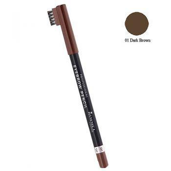 Creion de Sprancene Rimmel Professional 001 Dark Brown