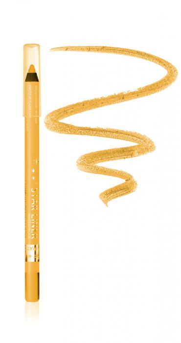 Creion Iluminator Waterproof Cu Irizatii Aurii Arcancil 542 Golden Gr