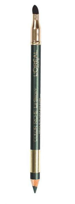 Creion de Ochi L'oreal Le Smoky - 209 Antique Green