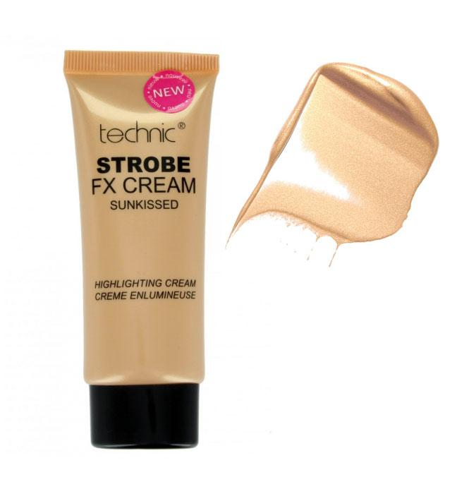 Iluminator cu particule TECHNIC Strobe Fix Cream Sunkissed 35g
