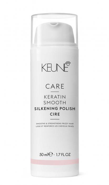 Crema Pt Disciplinarea Parului Keune Keratin Smooth Silk Polish 50 ml