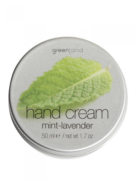 Crema de Maini Greenland cu Menta si Levantica 50 ml