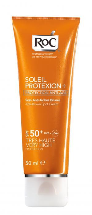 Crema Impotriva Petelor Maro RoC Soleil Protexion SPF 50 50 ml