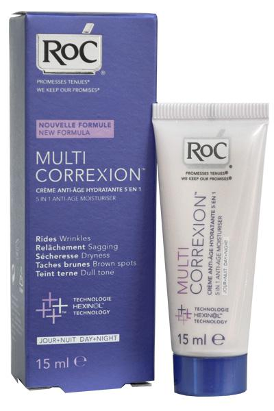 Crema Roc Multi Correxion Hidratanta Anti Rid 5 In 1 15 Ml