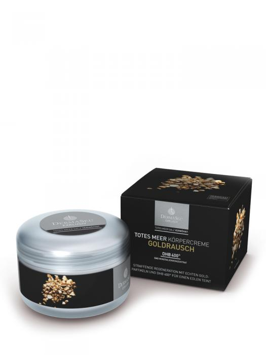 Crema de Corp DermaSel Exklusiv cu Aur - 250 ml