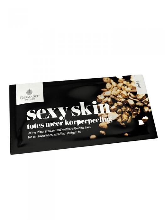 Exfoliant Corporal DermaSel Exklusiv Sexy Skin cu Aur - 38 ml