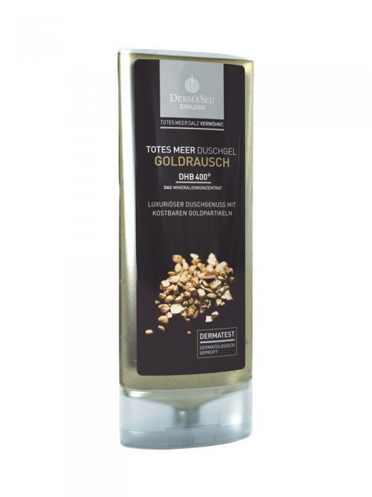 Gel de Dus Spumant DermaSel Exklusiv cu Aur - 150 ml