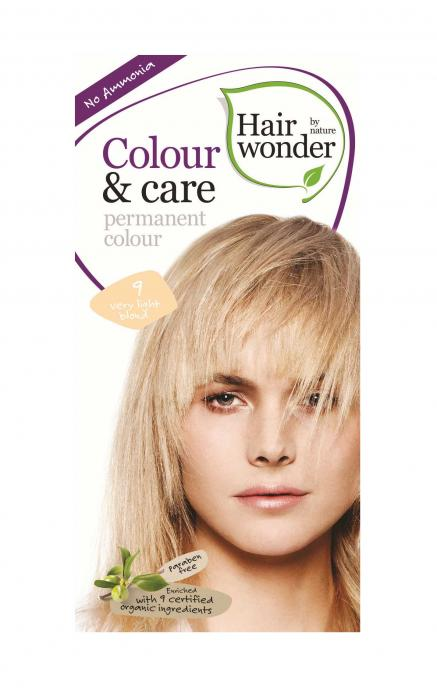 Vopsea De Par Fara Amoniac HennaPlus Hair Wonder 9 Very Light Blond