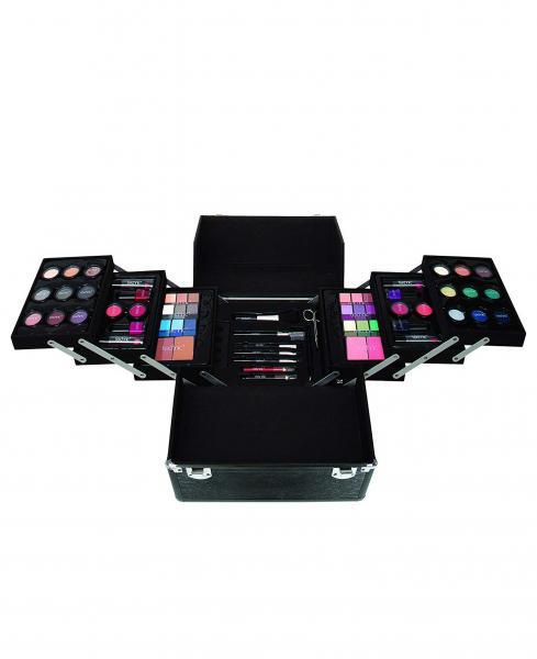 Set Cadou pentru Machiaj cu Geanta de Makeup TECHNIC Professional Beauty Case Gift Set