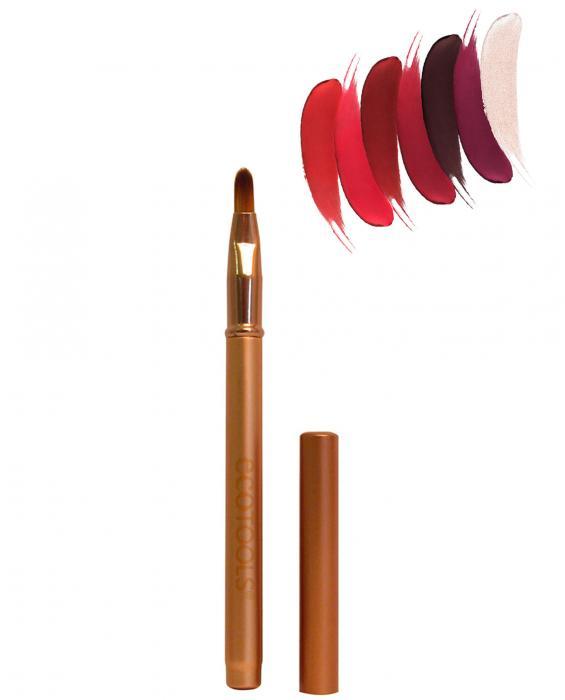 Pensula Din Bambus Pentru Buze Ecotools Detailed Lip Brush