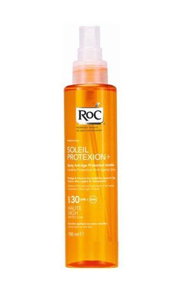 Ulei de Plaja Spray AntiRid ROC Soleil Protexion SPF30 UVB UVA 150ml