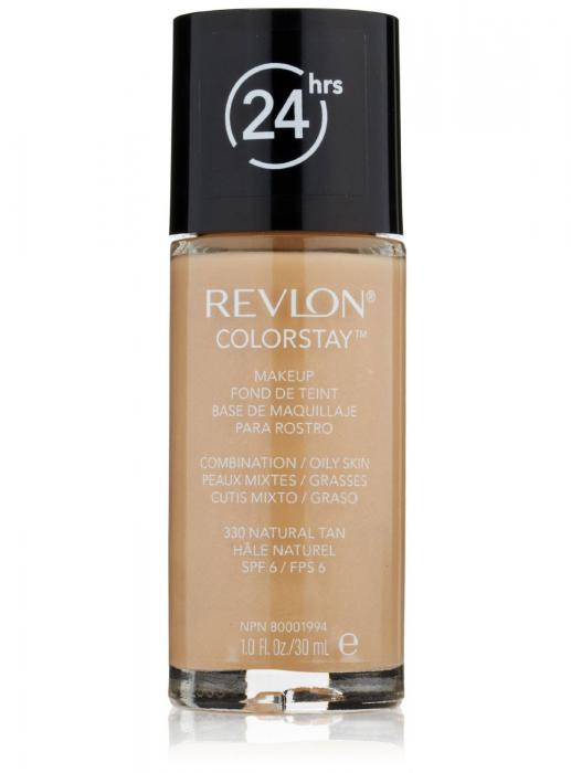 Fond de Ten Revlon ColorStay cu Softflex Oily Skin - 330-big