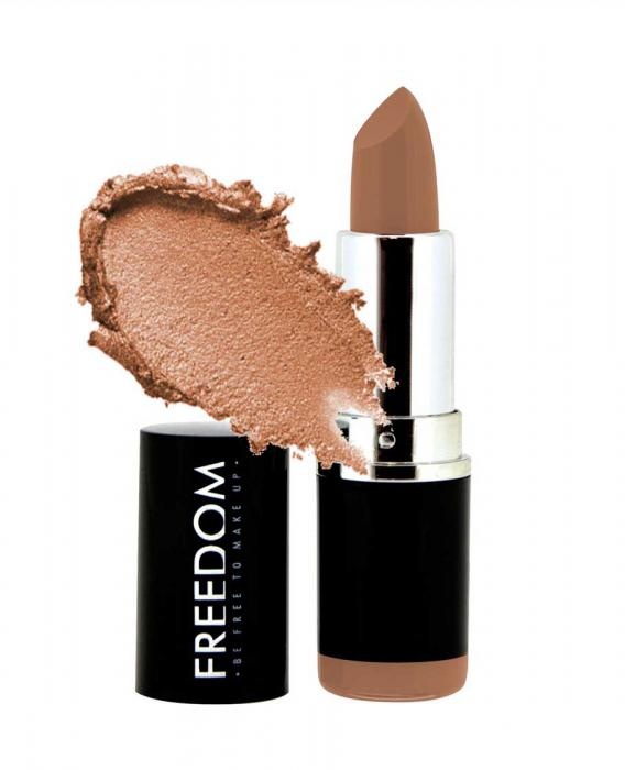 Ruj Profesional Makeup Revolution Freedom London Pro Lipstick Bare 111
