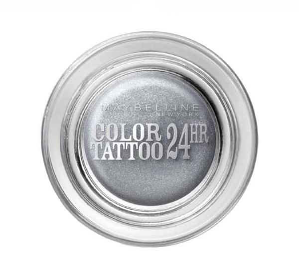 Fard De Pleoape Iluminator Maybelline Color Tattoo 24 Hr 50 Eternal Silver