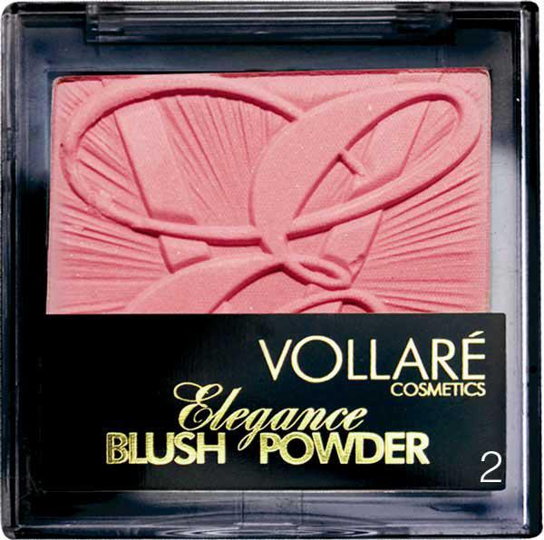 Fard De Obraz Vollare Elegance Blush - 2 Perfect Pink