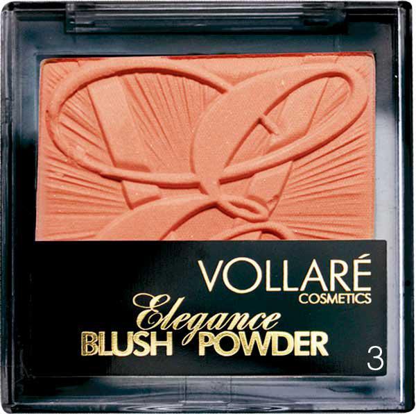 Fard De Obraz Vollare Elegance Blush 3 Natural Bronze