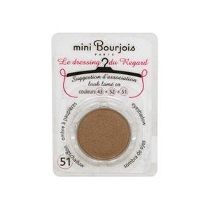 Fard Bourjois Mini Le Dressing du Regard 51