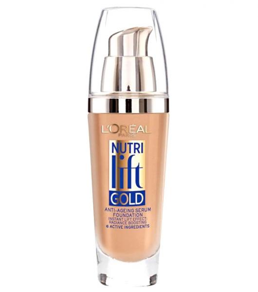 Fond De Ten Anti Rid L OREAL Nutri Lift Gold 160 Rose Beige 25ml