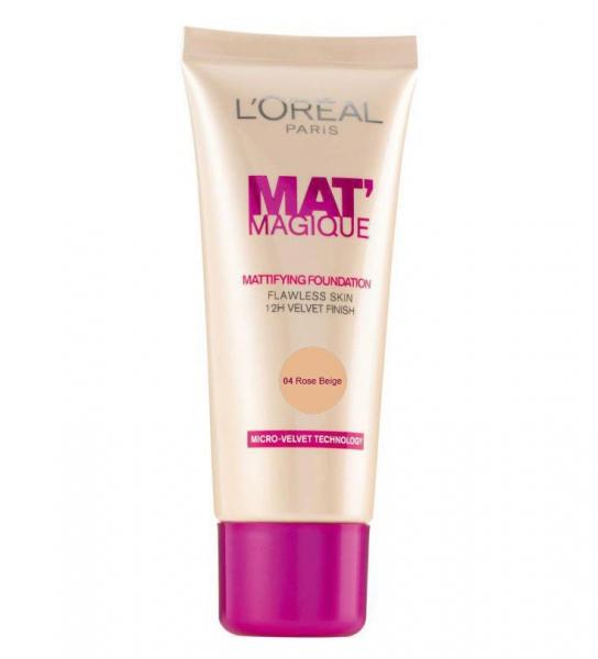 Fond de Ten L OREAL Mat Magique Mattifying 04 Rose Beige 25ml