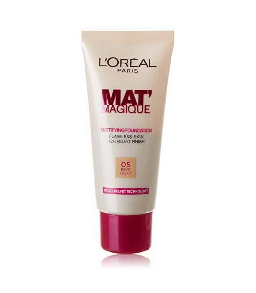 Fond De Ten L'oreal Mat Magique Mattifying - 05 Beige Cream