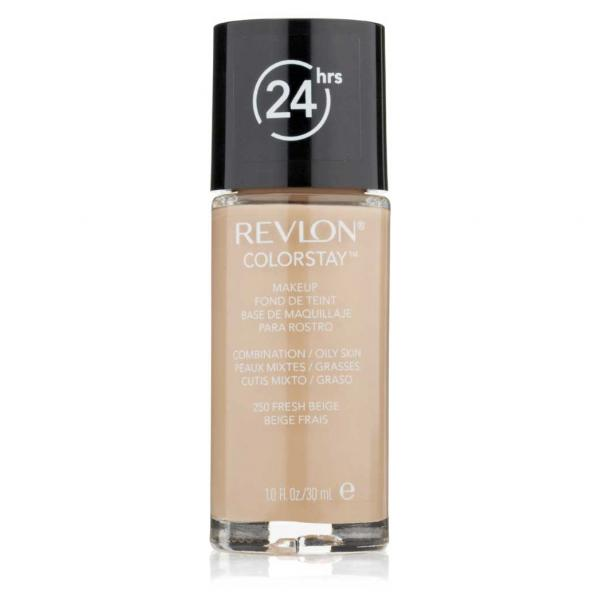 Fond de Ten Revlon ColorStay cu Softflex Oily Skin  250 Fresh Beige, 30 ml-big