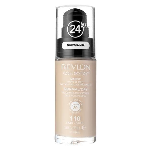 Fond De Ten Revlon Colorstay Dry Skin Cu Pompita 110 Ivory 30ml