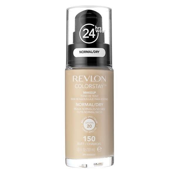 Fond De Ten Revlon Colorstay Dry Skin Cu Pompita 150 Buff 30ml
