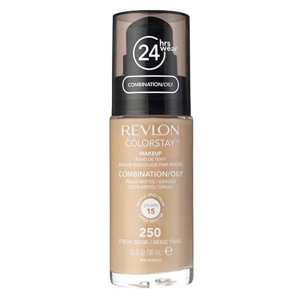 Fond De Ten Revlon Colorstay Oily Skin Cu Pompita 250 Fresh Beige 30ml