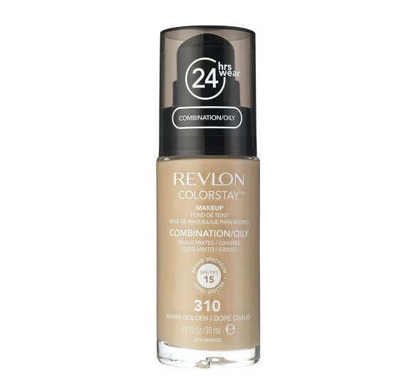 Fond De Ten Revlon Colorstay Oily Skin Cu Pompita 310 Warm Golden 30ml