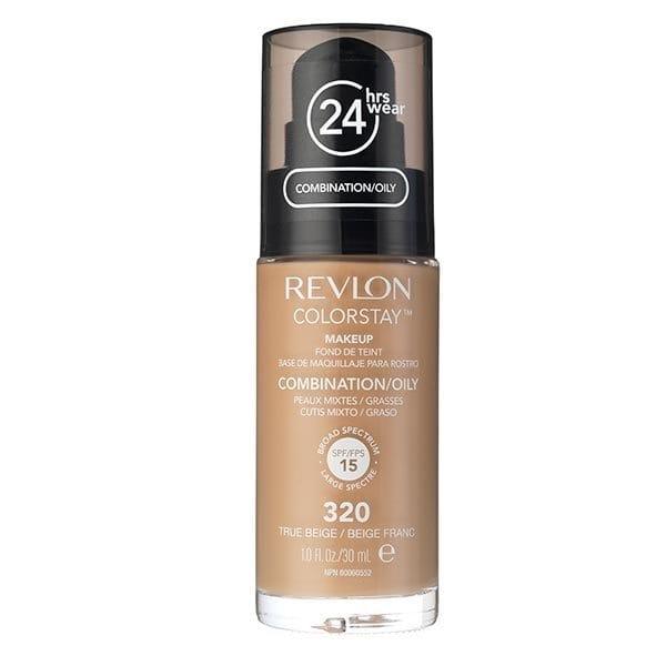 Fond De Ten Revlon Colorstay Oily Skin Cu Pompita 320 True Beige 30ml