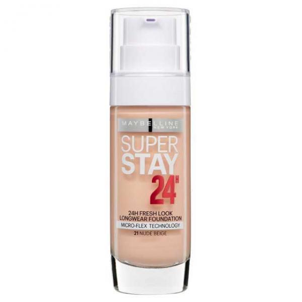Fond De Ten Rezistent Maybelline SuperStay 24 Hr 21 Nude Beige 30ml