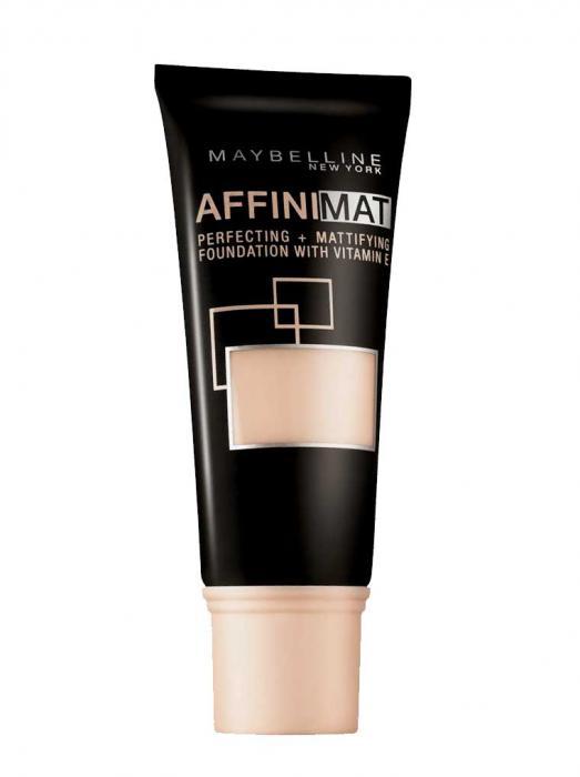 Fond De Ten Matifiant Maybelline AffiniMat 14 Creamy Beige
