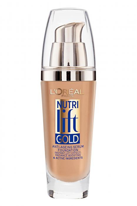 Fond De Ten Anti Rid L OREAL Nutri Lift Gold 250 Radiant Sand