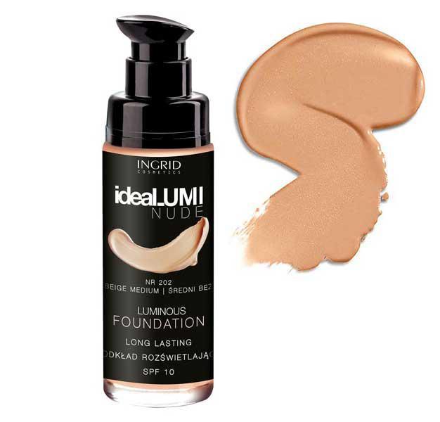 Fond De Ten Iluminator Ingrid Cosmetics ideaLUMI NUDE 203 Golden