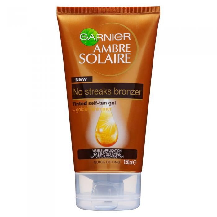 Gel Autobronzant Garnier Ambre Solaire No Streaks 150 ml